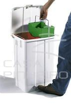 DERBY- 50 LT PLASTIC BIN WITH PEDAL